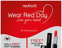 Neubodi - Wear Red Day Campaign
