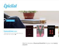 Webdesign & development - Epiclist