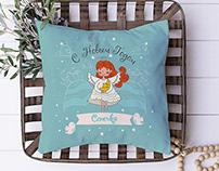 Christmas Design for Pillow