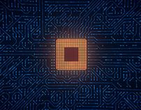 Motherboard CPU Circuits Loop 4k