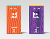 Confortex Condoms Branding
