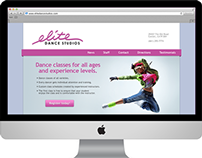 Elite Dance Studios website