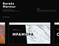 Bareks Marmur - web site