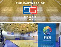 Sport Court Infographics