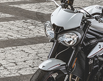 Triumph Street Triple R Photoshoot