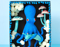 Blue Octopus Box