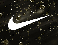 Nike Liquid Typography