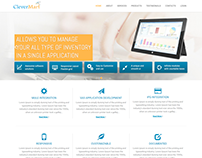 Software development company website