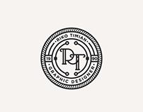 Personal monogram badge