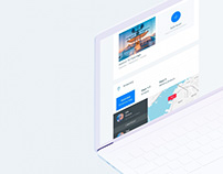 SAILO - rental boat marketplace - interface showcase