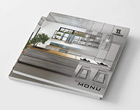 Catalog 'Monu' for furniture company