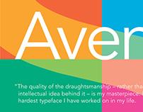 Avenir Poster