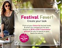 Festival Fever Social Media Campaign for SIMPLYBE.CO.UK