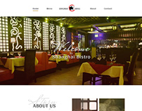 Web development for a restaurant