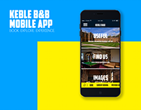 Keble B&B Mobile App