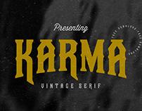 FREE | Karma Vintage Serif