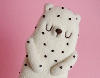 Popsicle Bear - Stracciatella Art Toy