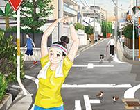 morning run 朝ラン