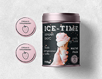 "Development of packaging for ice cream ""ICE-TIME"""