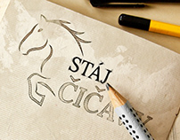 Logo design (client: Stáj Čičavy)