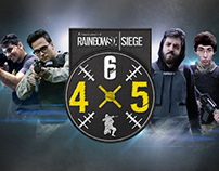 Rainbow Six Siege 4X5 Competition