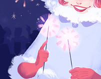 Illustration: Fireworks