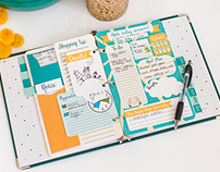 Printable Personalized Planner