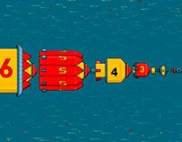 War Rocket Six - Animated Gif