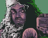Bad Santa Movie Poster (Fan Art)