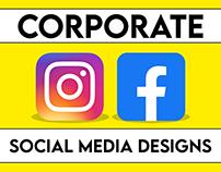 Corporate Social Media Designs