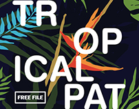Tropical Branding (InDesign) FREE