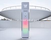 Breeze   Interactive Fan   UI/UX