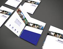 Corporate folder designs