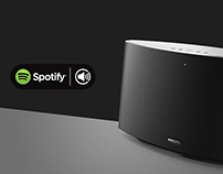 Spotify Speaker SW750M | PHILIPS