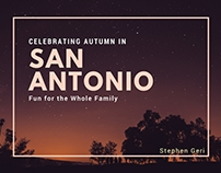 Stephen Geri | Celebrating Autumn in San Antonio