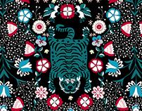 Tibetan Tiget/Textile Design/Patternbank