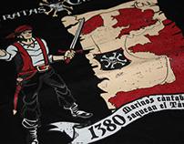 Camisetas PIRATAS DEL CANTÁBRICO