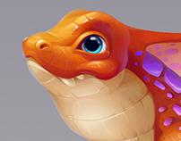 """Dragons world"""
