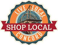 Branding & Graphic Design: Shop Local Concord