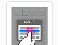 Kidlok App Wireframes