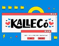 Kalleco - Cute Free Fonts
