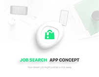 Job Search App Concept MyJob