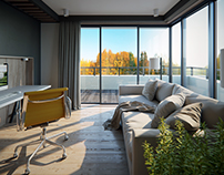 Apartment interior in Germany