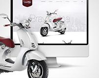 Webdesign I Vespa 946 Concept