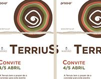 Terrius - Convite