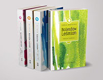 Book covers for Works of Bolesław Leśmian