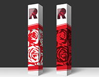 Packaging Design for a Rose