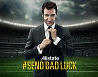 Allstate #SendBadLuck / #EnviaMalaSuerte