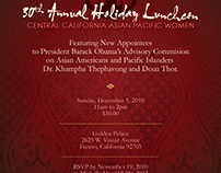 Central California Asian Pacific Women Luncheon Flyer