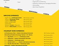 PHUONG TRAN'S CV